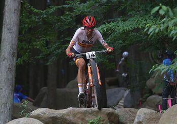 David Valero logra el bronce en ciclismo de montaña