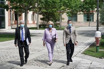 La consejera de Sanidad, Verónica Casado, informa sobre la actualidad epidemiológica en la Comunidad.