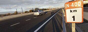 Ayuntamiento y Ministerio negocian más carriles en la N-400