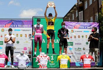 Iván Romeo sigue de dulce y gana la Vuelta a Valladolid