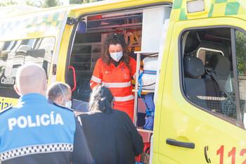 Suben a once los heridos por el incendio de La Albuera