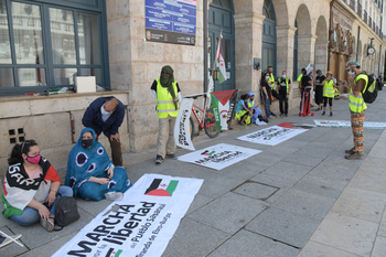 Marcha a Madrid por el pueblo saharaui