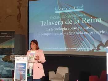 Élez vende Talavera como una ciudad «moderna y tecnológica