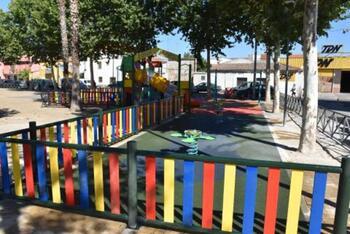 Concluye la remodelación del parque infantil de Patrocinio