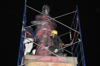 Bogotá retira dos monumentos de Colón e Isabel la Católica
