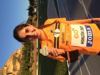 Ángela Viciosa, plata en el Campeonato de España sub 20