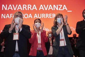 Chivite es reelegida con el 97,22% de los votos