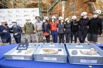 Atapuerca cierra una campaña de excavaciones 'espectacular'
