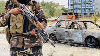 EEUU bloquea varios cohetes dirigidos al aeropuerto de Kabul