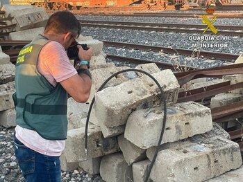 Desmantelada una banda por robo de cobre en la provincia