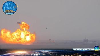El 'Starship' aterriza con éxito, pero vuelve a estallar