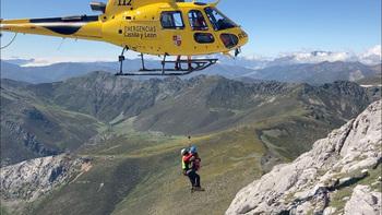El 45% de los rescates en montaña, en junio y julio
