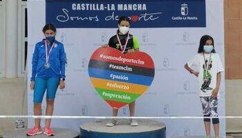 Carla Fernández consigue el Sucampeonato regional alevín