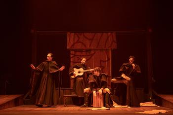 Ron Lalá presenta en el Festival de Chinchilla 'Andanzas y entremeses de Juan Rana'.
