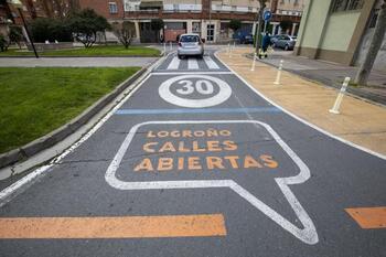 Logroño no acometerá más proyectos de Calles Abiertas