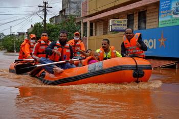 La temporada de lluvias deja 164 muertos en la India