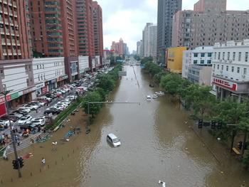 Las lluvias torrenciales en China dejan al menos 25 muertos