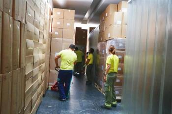 Repartidos 178.000 artículos de protección la última semana