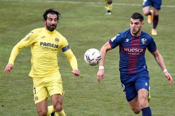 El Villarreal ahoga todavía más al Huesca