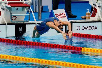 Núria Marquès conquista la plata en los 100 espalda