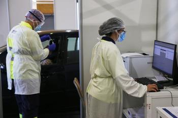 Las PCR se trasladarán al pabellón 2 de Talavera Ferial