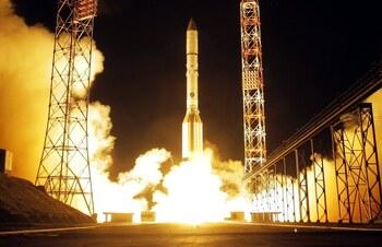 Rusia lanza rumbo a la EEI su nuevo módulo Naúka