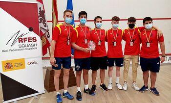 El Squash Palencia fue el subcampeón en casa