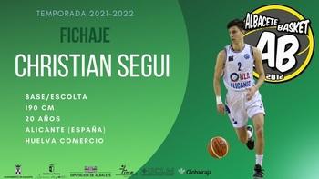 El Albacete Basket incorpora al base Christian Seguí