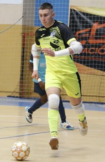 Aitor será el tercer portero del Soliss FS Talavera