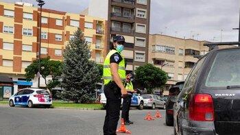Policía Local arrestó a un conductor sin carné