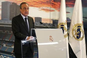 Florentino Pérez es proclamado presidente del Real Madrid