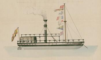 El barco de vapor de Jacinto Peña