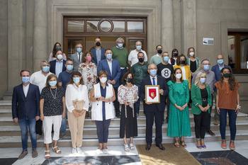 Pamplona reconoce a Anaitasuna por sus 75 años
