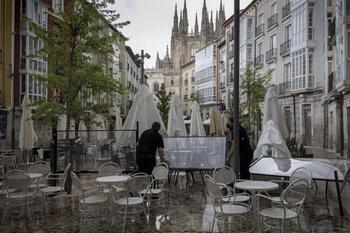 Aviso amarillo por lluvias y tormentas en Burgos