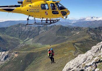 Junio y julio acaparan uno de cada dos rescates de montaña