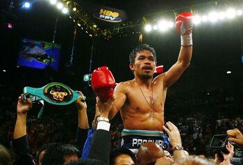 Pacquiao deja el boxeo para aspirar a la presidencia del país