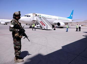 El aeropuerto de Kabul reanuda sus vuelos internacionales