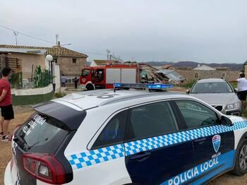 Una explosión pirotécnica derrumba una casa en Hellín