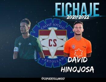 El Calvo Sotelo incorpora a David Hinojosa