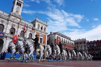 Valladolid se vuelca con la Policía en sus actos centrales