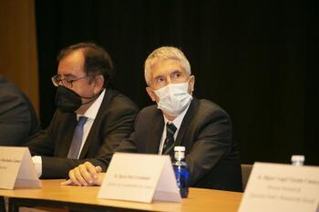 Grande-Marlaska define el CNEP como un «proyecto importante»