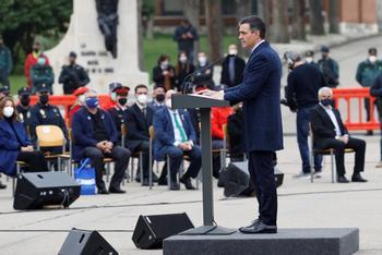 Sánchez defiende la memoria de las víctimas del terrorismo