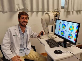 Oftalmología incorpora tecnología para mejorar diagnósticos
