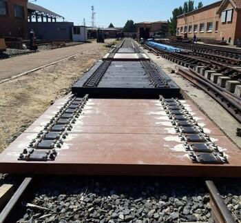 Adif testará en la estación de Quintana sus nuevas traviesas