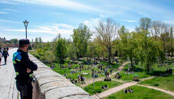 El Lunes de Aguas en Salamanca se salda con 150 sanciones