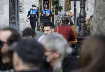 69 denuncias por saltarse el toque de queda en Burgos