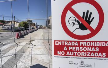 Nuevo corte de tráfico por obras en el polígono del Cerro