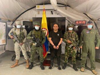 Detienen al narcotraficante más buscado de Colombia
