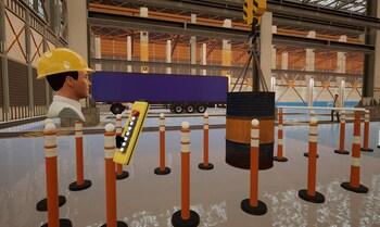Un simulador de realidad virtual frente a riesgos laborales