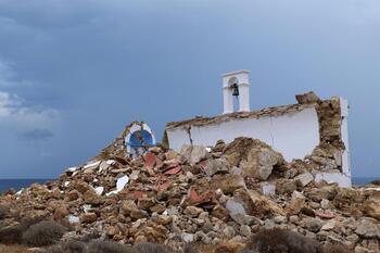 Registrado un terremoto de magnitud 6,1 en Grecia